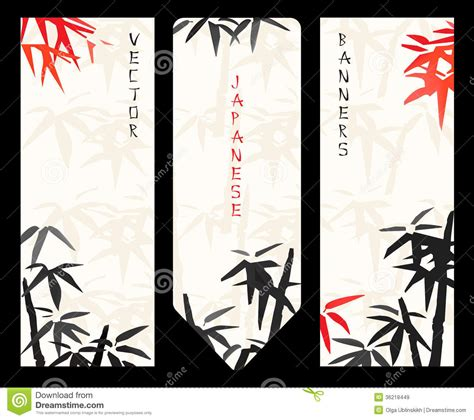 banner design japan vector japanese banners royalty free stock images image