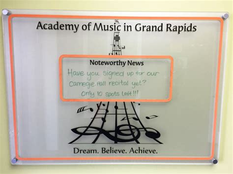 achieving the dream grand rapids community college the academy of music in grand rapids inspires students to