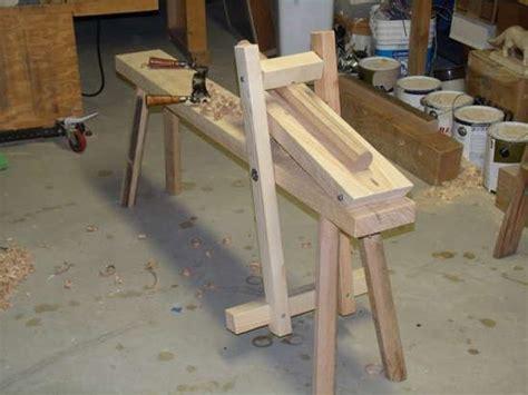 shaving bench plans shaving horses and benches on pinterest