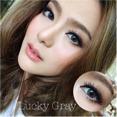 Softlens Grey 3 25 S D 6 00 Softlense Softlen Softlens Lucky Grey 14 5mm Softlens Murahsoftlens Murah