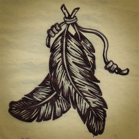 hipster tattoos tumblr feathers by louciernaga on deviantart