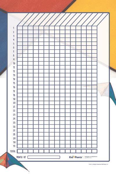 printable star chart for students star behavior chart for kids kid pointz