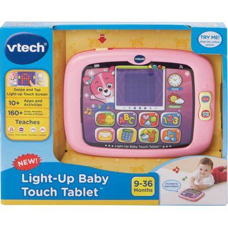 Vtech Light Up Baby Touch Tablet Pink Walmart Com
