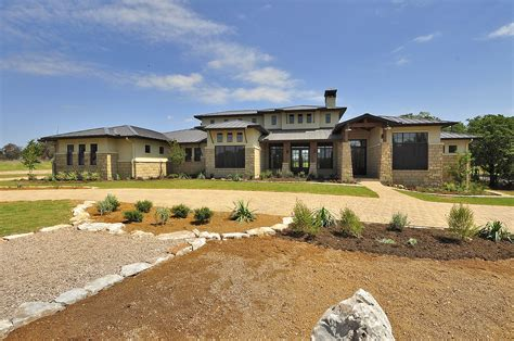 hill country floor plan distinctive house style