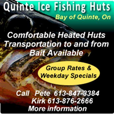 fishing boat rentals bay of quinte ice hut rentals fishing bay of quinte