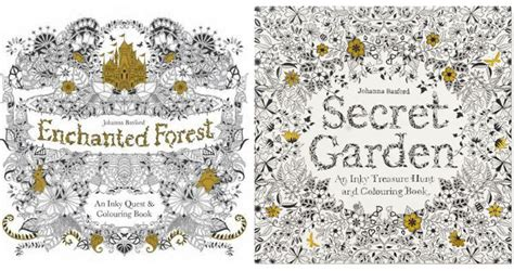 secret garden colouring book depository more colouring for grown ups from johanna basford