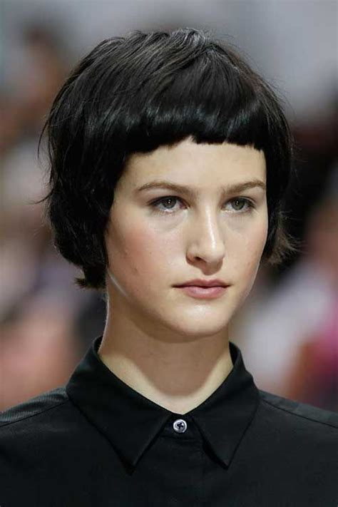 very short hairstyles with fringesport 25 best ideas about very short bangs on pinterest short
