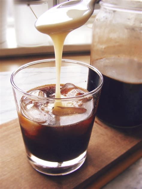 Cold Brew Coffee With Milk cold brewed coffee with sweetened condensed milk project yum