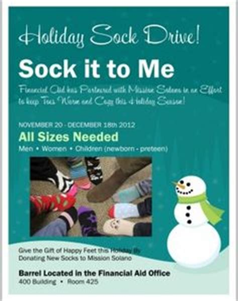 Sock Drive Out Reach Projects Pinterest Socks Service Projects And Project Ideas Sock Drive Flyer Template