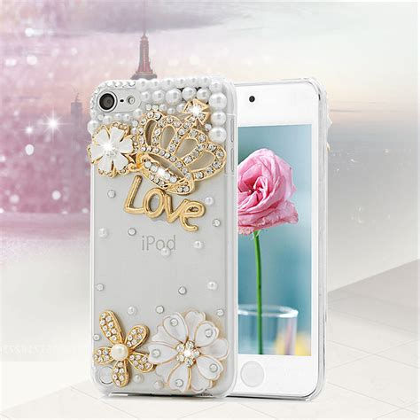 Handmade Cases For Your Laptop And Ipod by Handmade 3d Luxury Bling Rhinestone