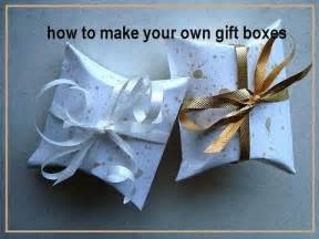 How to make your own gift boxes how to diy paper box cardstock box