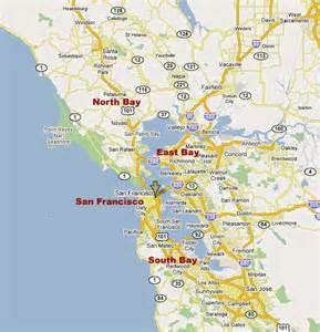 san francisco map east bay