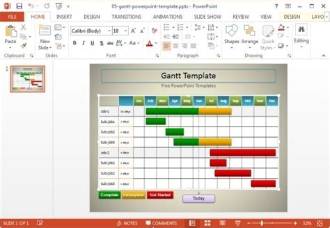 10 Useful Gantt Chart Tools Templates For Project Management Gantt Chart Template For Powerpoint