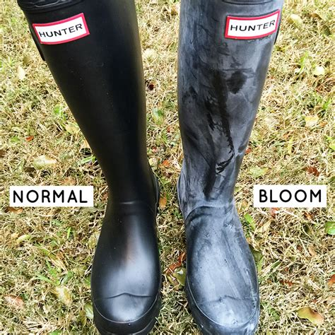 rubber boot polish how to clean your hunter boots remove white bloom the