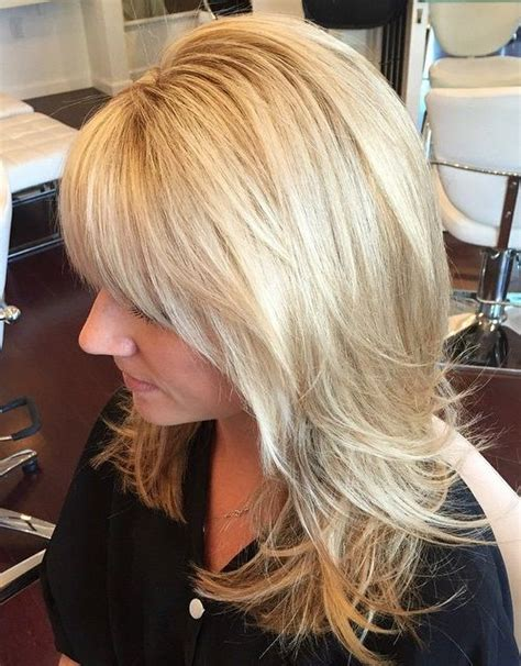 long hair with short layers on crown 40 cute and effortless long layered haircuts with bangs
