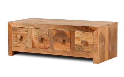 8 drawer trunk style mango wood coffee table casa