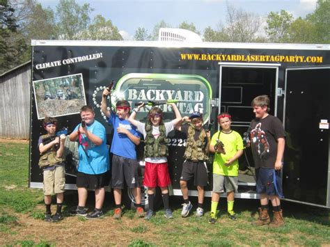 backyard laser tag laser tag birthday parties in north carolina pinehurst
