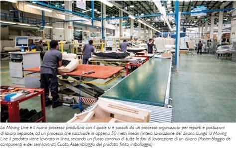 fabbriche di divani natuzzi la lean enterprise per la produzione di divani