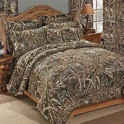 realtree max 5 camouflage comforter sham set size