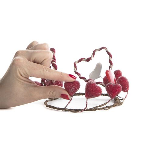 valentines day rings for primitive sugary s day candle ring