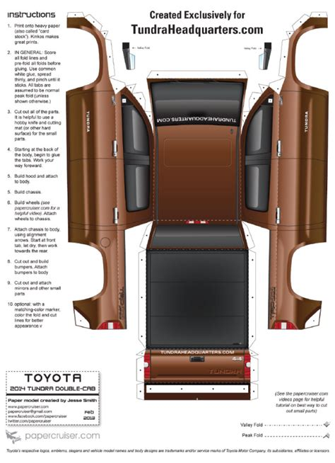 Toyota Papercraft - papercraft toyota