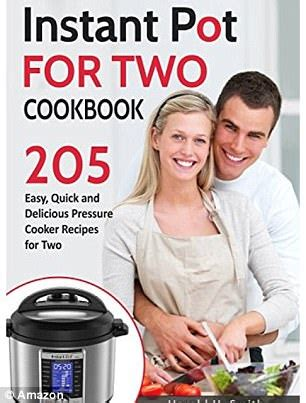instant pot for two cookbook easy to follow most delicious superfast healthy recipes for two books instant pot cookbook for two book covers baffle