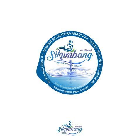 Desain Kemasan Air Minum | sribu desain label desain label untuk air minum kemasan g