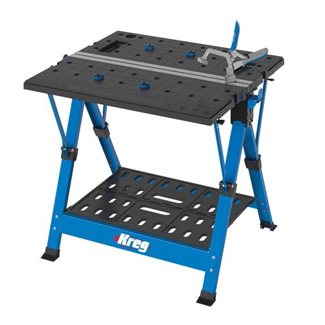 portable bench kreg 2 6 ft portable workbench kws1000 the home depot