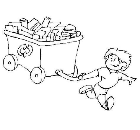 reducir imagenes html dibujo de ni 241 o reciclando para colorear dibujos net