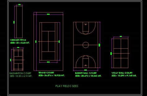 outdoor play games,Sports Field   Plan n Design