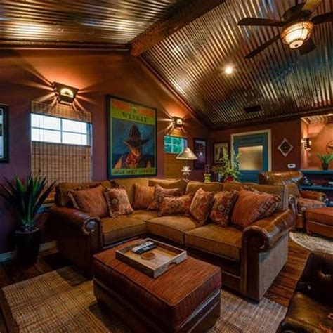 rustic family room ideas ceilings