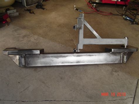 Homemade Rear Bumper Page 4 Jk Forum Com The Top