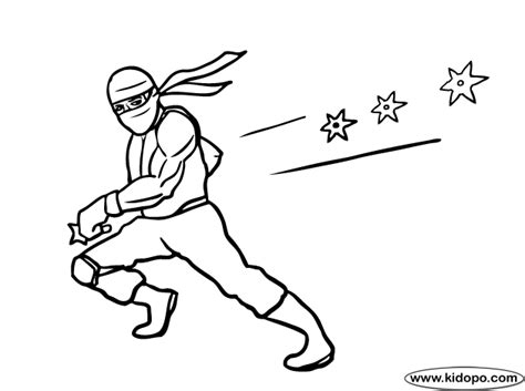 Coloring Pages Of Ninjas 2 coloring page