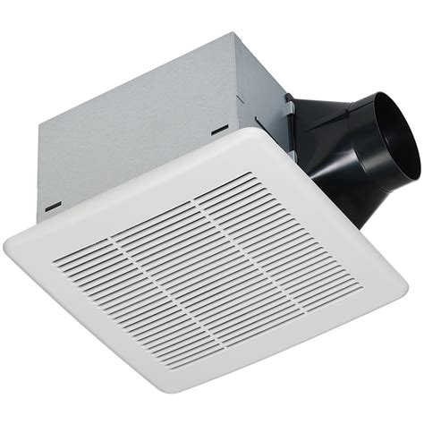 lowes bathroom exhaust fans utilitech 0 3 sones 80 cfm white bathroom fan energy star