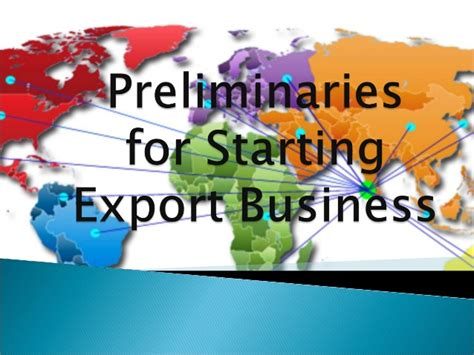 Smt Shantaben Haribhai Gajera Mba Mahila College by Preliminaries For Starting Export Business