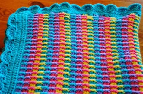 Rainbow Crochet Baby Blanket by Rainbow Dash Baby Blanket Pattern Free Get The Details Now