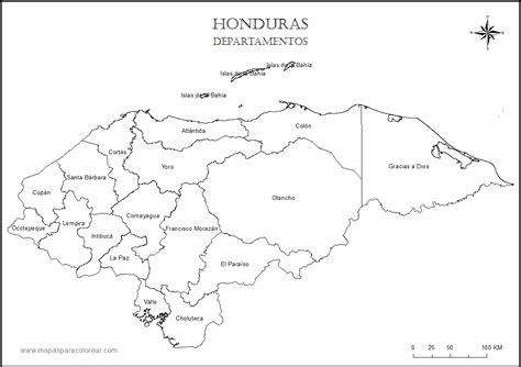 honduras map coloring page free coloring pages of mapas de guatemala