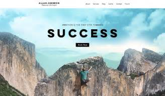 new html website templates by wix