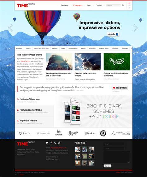 live time themes responsive wordpress themes premium collection