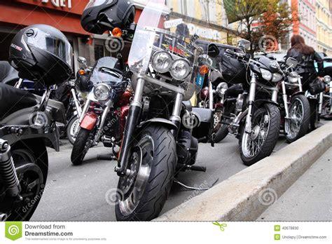 Bikers Brotherhood Bandidos protest of motorcycle clubs oslo editorial image image