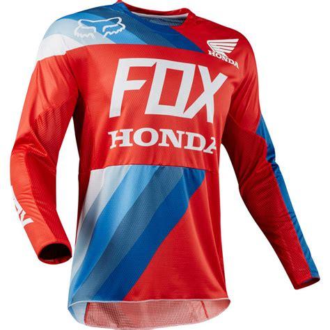 honda motocross jerseys fox racing 360 honda motocross jersey arrivals