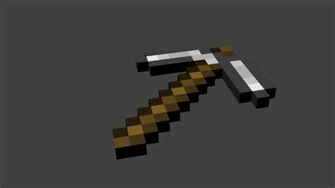Minecraft Papercraft Pickaxe - minecraft pickaxe by luyomi333 on deviantart