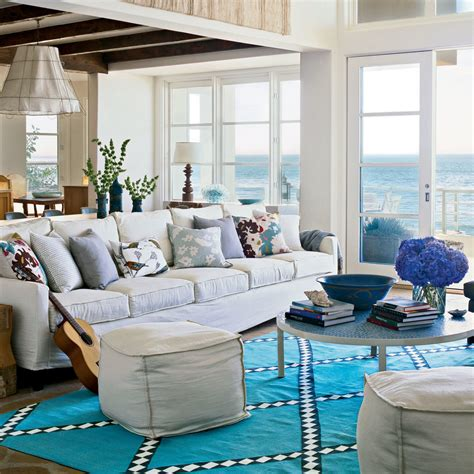 coastal livingroom chic style our 60 prettiest island rooms coastal living