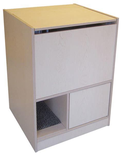cat litter box furniture out of sight litter box cabinet