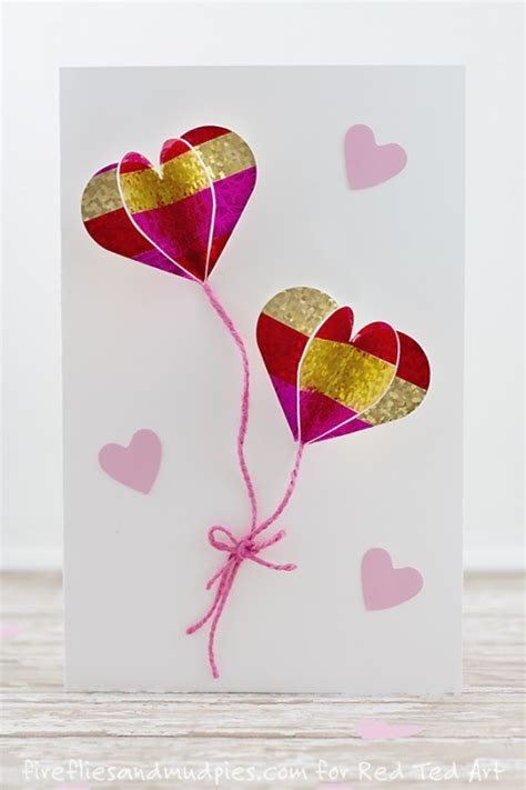 Diy Easter Gifts by Diy 3d Heart Card Red Ted Art S Blog