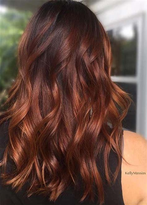 les couleurs de cheveux cheveux roux tendances et colorations 50 magnifiques couleurs cheveux tendance 2017 hairstyles cheveux couleur