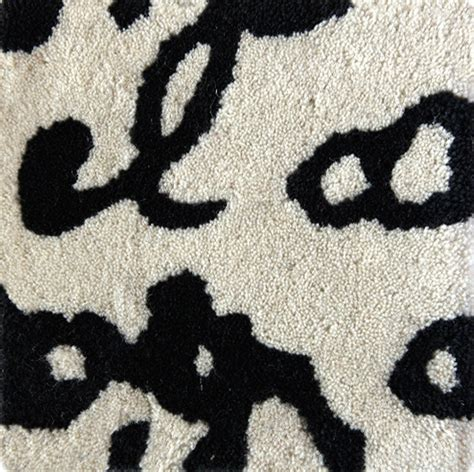 manuscript rug black on white manuscript rug by nanimarquina from tollgard