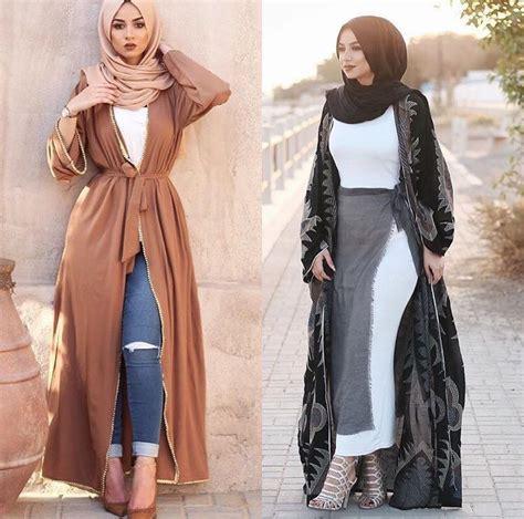 Fashion Dress Models Modest muslim style fashions for fall winter muslim abayas and muslim fashion