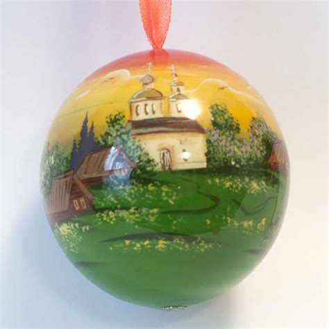 ornament wooden russian sites christmas tree decoration