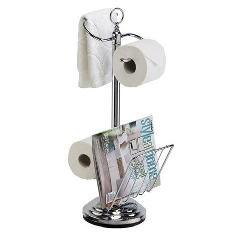 tissue holder better living 54542 the organized bath valet toilet tissue
